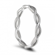 Simple Celtic Knot Rings Sterling Silver