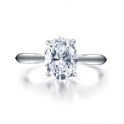 Sterling Silver Sona Solitaire Rings