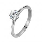 Little Flower Sterling Silver Pretty Rings