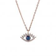 Devil's Eye Temperament Clavicle Necklace