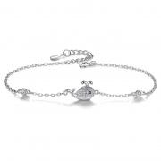S925 Sterling Silver Cute Fish Fashion Bracelet