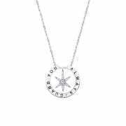 Six-pointed Star Temperament Niche Design Couple Necklace