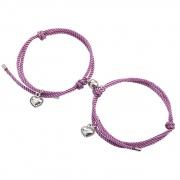Multicolor Magnet Buckle Couple/Friend Bracelet
