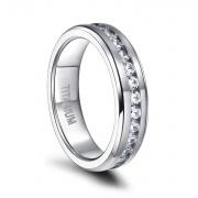 Silver Titanium Rings