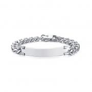 Titanium Steel Mens Chain Bracelet