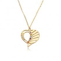 DIY Custom Heart Pendant Necklace
