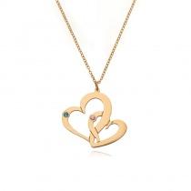 Creative Heart-shaped Customization Necklace