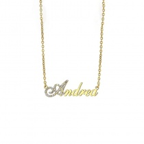 Personalized Customized Name Pendant Necklace