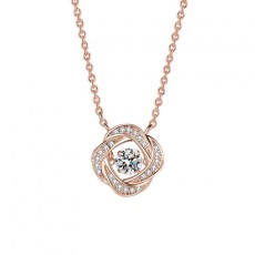 Beating Heart Necklace Pendant Clavicle Chain