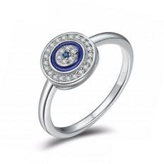 Evil Eye Sterling Silver Rings
