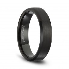 Black Tungsten Matte Brushed Bands