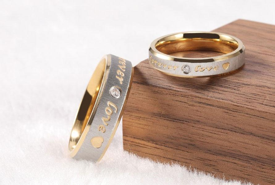 His and Hers Wedding Rings in Philippines Under ₱2500